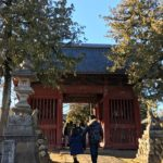 三人寄れば文殊の智恵!日本三体文殊菩薩の一つ、野原の文殊寺に初詣
